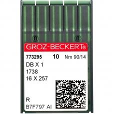 Иглы промышленные Groz-Beckert DBx1 R №90 фото
