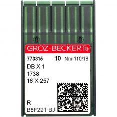Голки промислові Groz-Beckert DBx1 R №110 фото