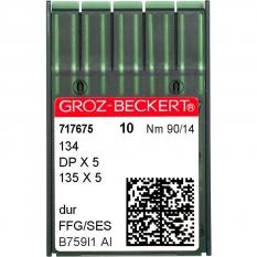 Иглы промышленные Groz-Beckert DPx5 SES №90 фото