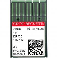 Голки промислові Groz-Beckert DPx5 SES №100 фото