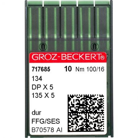 Иглы промышленные Groz-Beckert DPx5 SES №100