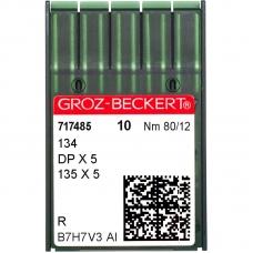 Иглы промышленные Groz-Beckert DPx5 R №80 фото