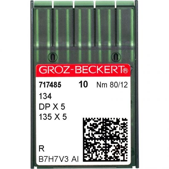 Иглы промышленные Groz-Beckert DPx5 R №80