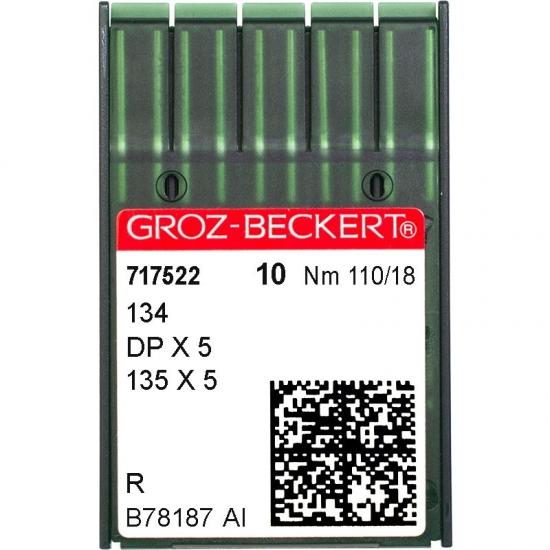 Иглы промышленные Groz-Beckert DPx5 R №110
