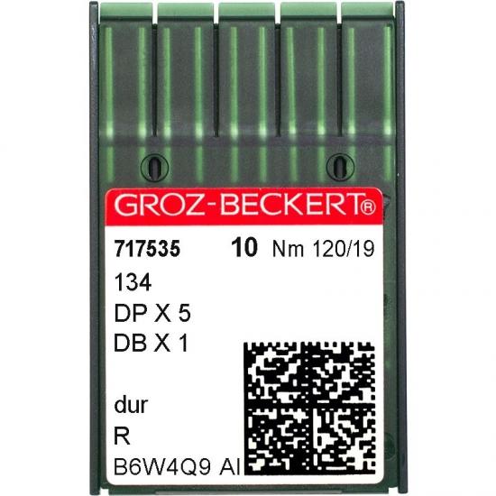 Иглы промышленные Groz-Beckert DPx5 R №120