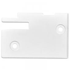 Игольная пластина откидной панели для оверлока фото