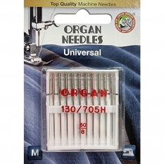 Голки універсальні Organ Universal №60 10 штук фото
