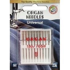 Иглы универсальные Organ Universal №80 10 штук фото
