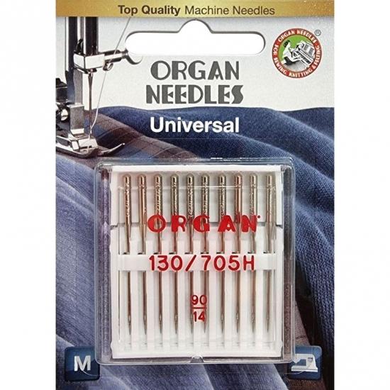 Иглы универсальные Organ Universal №90 10 штук