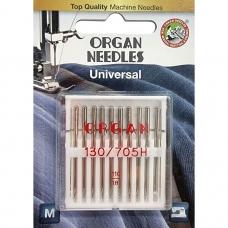 Иглы универсальные Organ Universal №110 10 штук фото