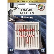 Иглы универсальные Organ Universal №120 10 штук фото