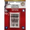 Иглы для вышивки Organ Embroidery Anti-Glue №90-100