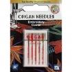 Иглы для вышивки Organ Embroidery Combi-Box 5 штук