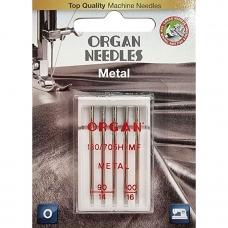 Иглы для металлизированных нитей Organ Metal №90/100 фото
