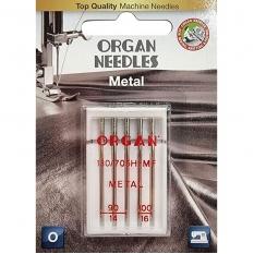 Голки для металізованих ниток Organ Metal №90/100 фото