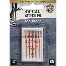 Иглы для штопки и вышивки Organ Top-Stitch №80 5 штук фото
