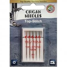 Голки для штопання і вишивки Organ Top-Stitch №80 5 штук фото