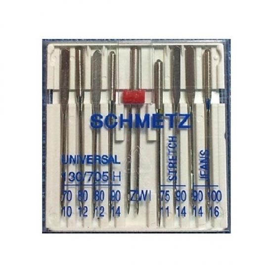 Иглы Schmetz Сombi Box универсальные №70-100