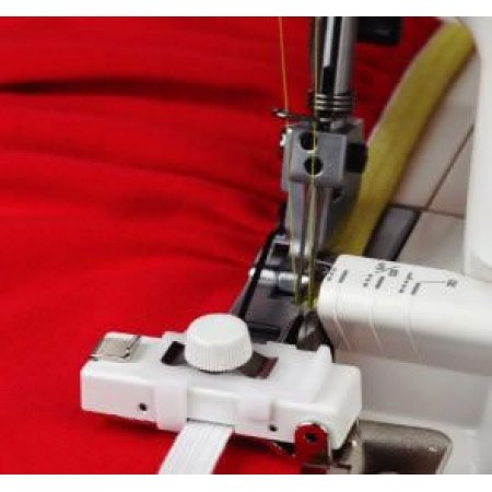 Направитель для пришивания резинки к оверлокам Janome 200218102