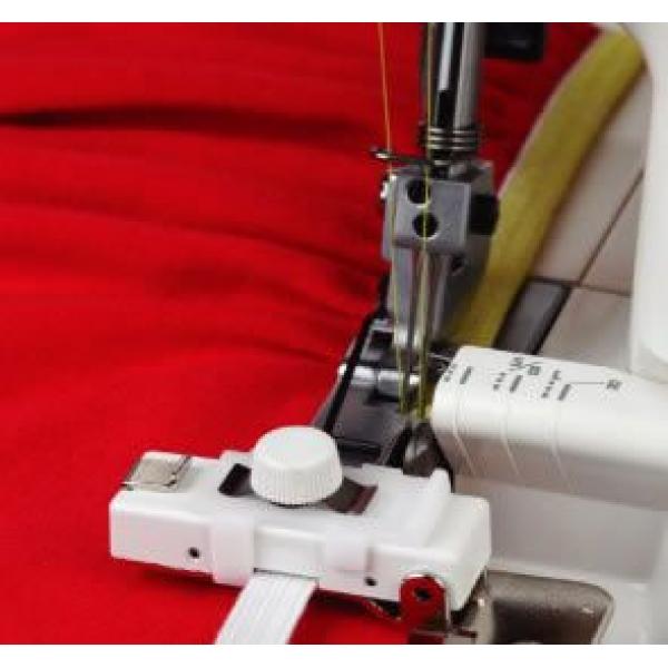 Направитель для пришивания резинки к оверлокам Janome 200218102 фото