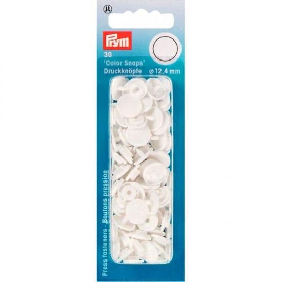 Кнопки белые Color Snaps 12,4 мм Prym 393103