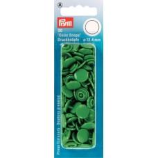 """Кнопки зеленые """"Color Snaps"""" 12,4 мм Prym 393151 фото"""