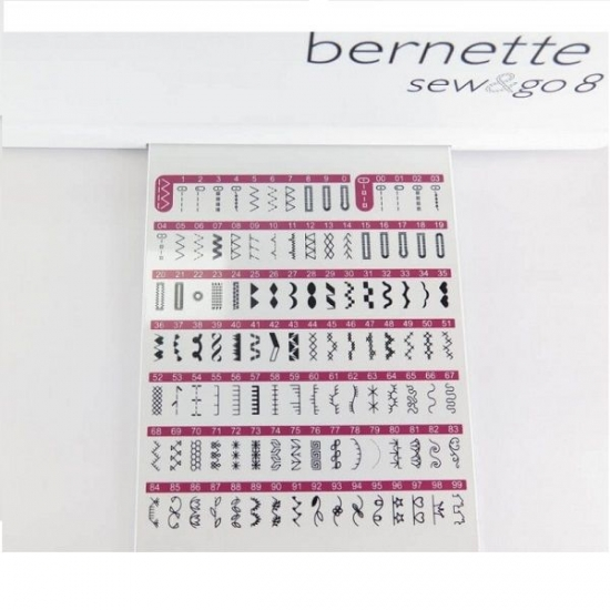 Швейная машина Bernette Sew and Go 8