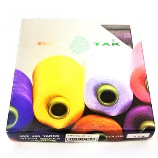 Набор швейных нитей Dor Tak 10 шт.