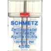 Подвійна голка Schmetz Twin Universal №80/4