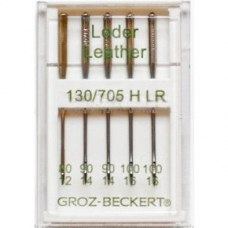 Иглы для кожи Groz-Beckert ассорти №80-100 фото