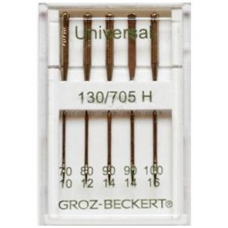 Иглы Groz-Beckert универсальные ассорти №70-100