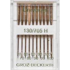 Иглы Groz-Beckert универсальные ассорти №70-100 (10 штук) фото