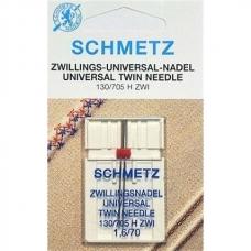 Подвійна голка Schmetz Twin Universal №70/1,6 фото