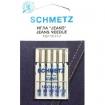 Голки для джинса асорті Schmetz Jeans №90-110