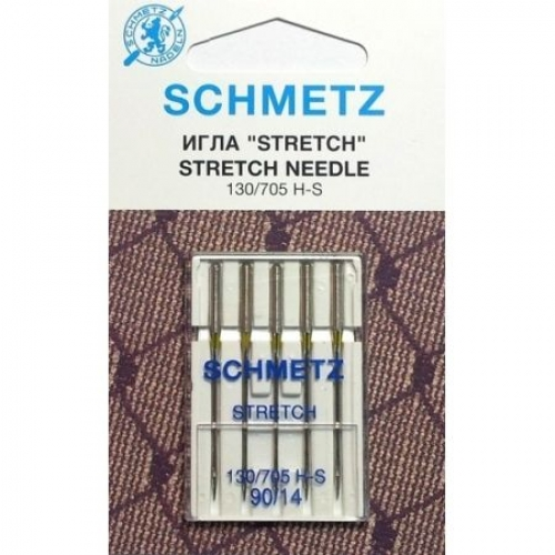 Иглы для трикотажа Schmetz Stretch №90 фото