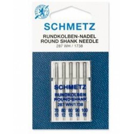 Голки для універсальних тканин асорті Schmetz Universal №70-100