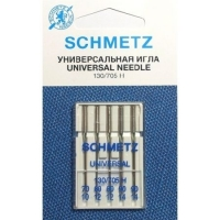 Иглы универсальные Schmetz Universal №70-90 (5 шт.) фото