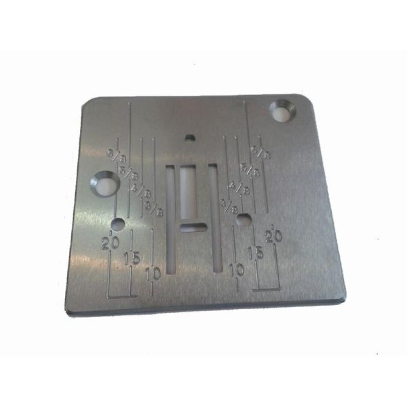 Игольная пластина для швейных машин с вертикальным челноком