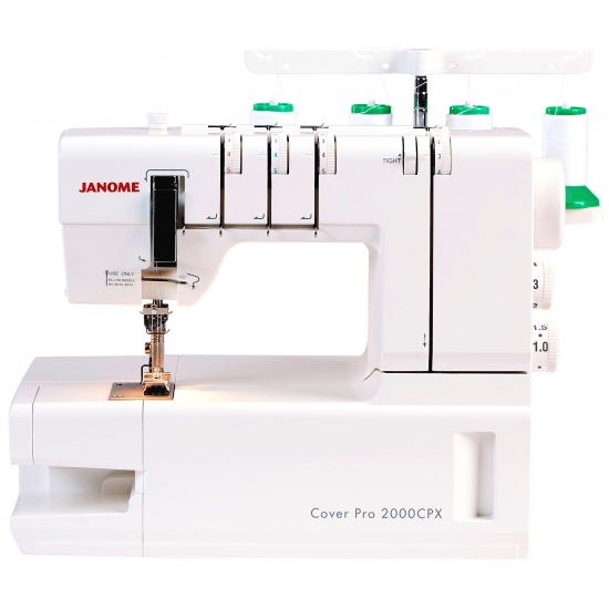 Розпошивальна машина JANOME Cover Pro 2000 CPX