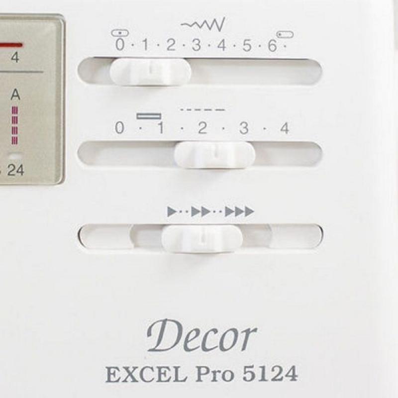 Швейна машина JANOME Decor Excel Pro 5124