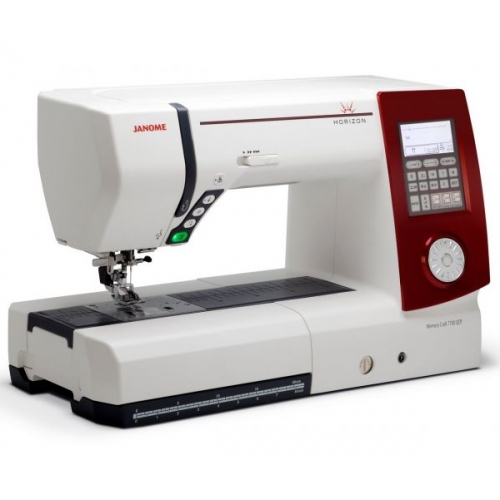 Швейная машина JANOME Horizon Memory Craft 7700 qcp фото
