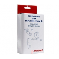 Лапка для тесьмы и ленты к оверлокам Janome 200204208 фото