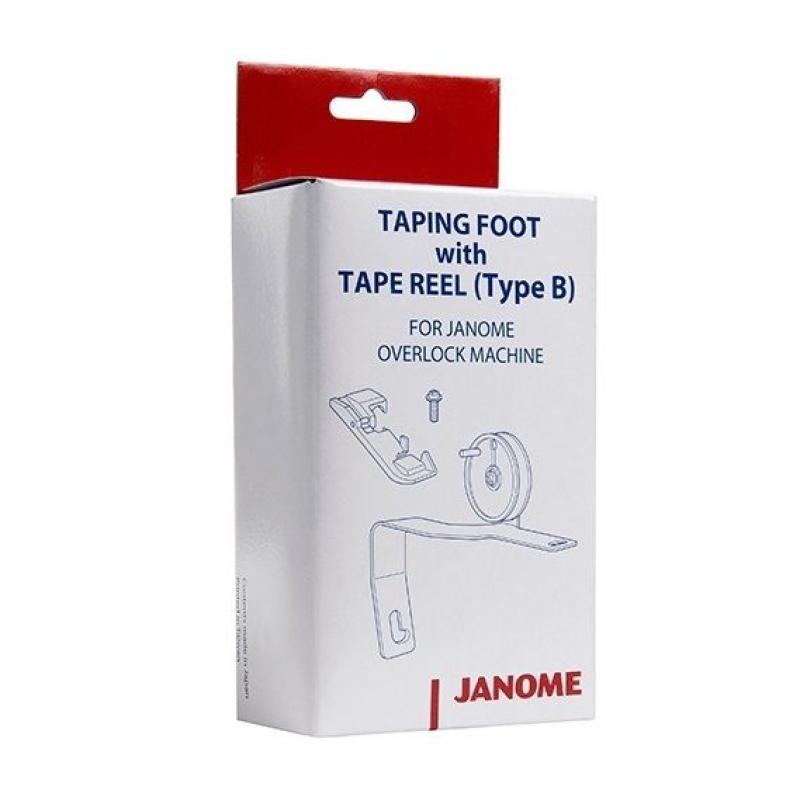 Лапка для тесьмы и ленты к оверлокам Janome 200204208