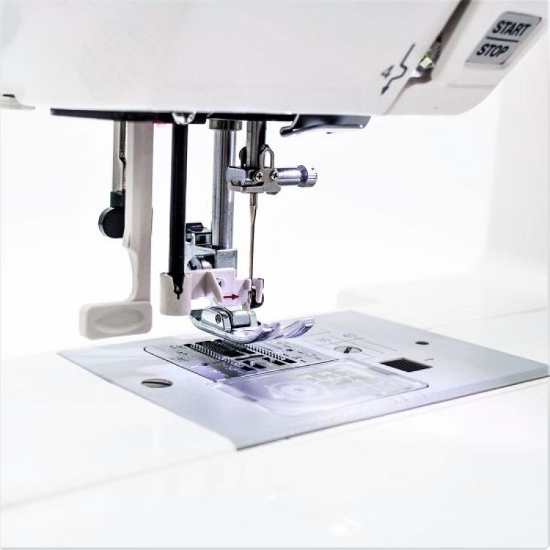 Janome quality fashion qf 7600 ткань пвх купить в оренбурге