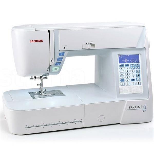 Швейная машина JANOME Skyline S3 фото