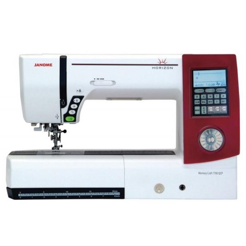 Швейная машина JANOME Horizon Memory Craft 7700 qcp