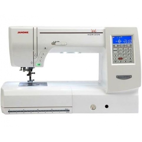 Швейная машина JANOME Horizon Memory Craft 8200 QC фото