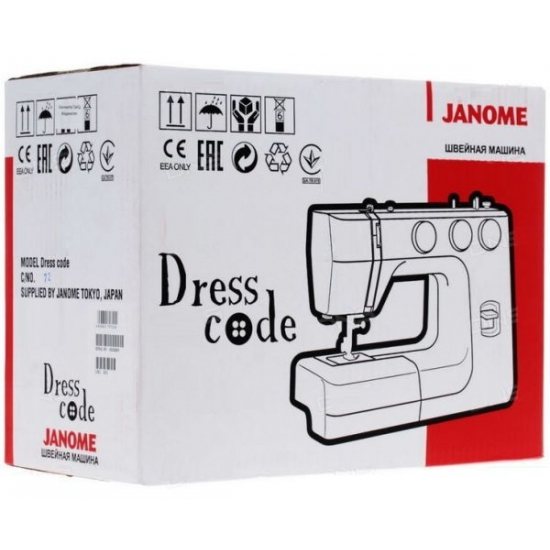 Швейна машина JANOME Dress Code