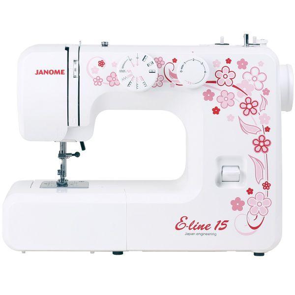 Швейная машина JANOME E-Line 15 фото