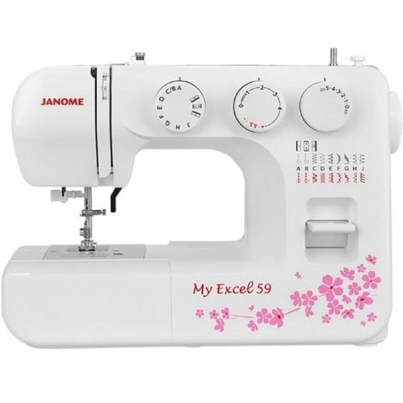 Швейная машина Janome MyExcel 59